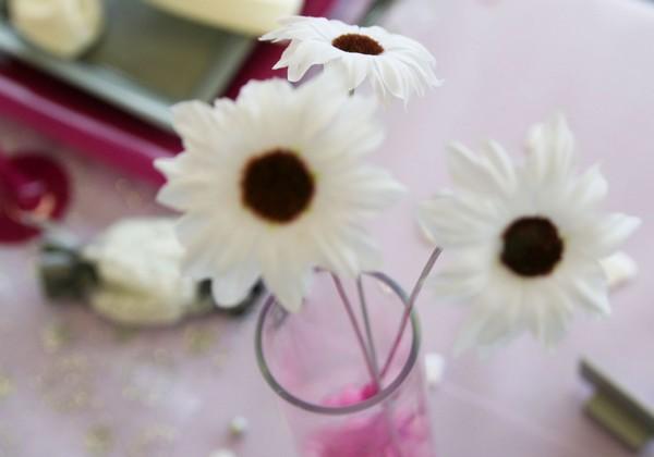 Fleurs sans tige