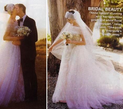 Photo du mariage de Anne Hathaway