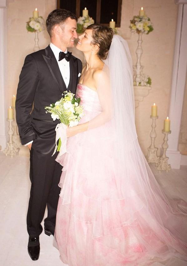 Les photos du mariage de M. et Mme Timberlake !
