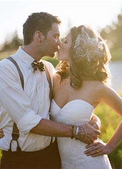 Bretelles de marié
