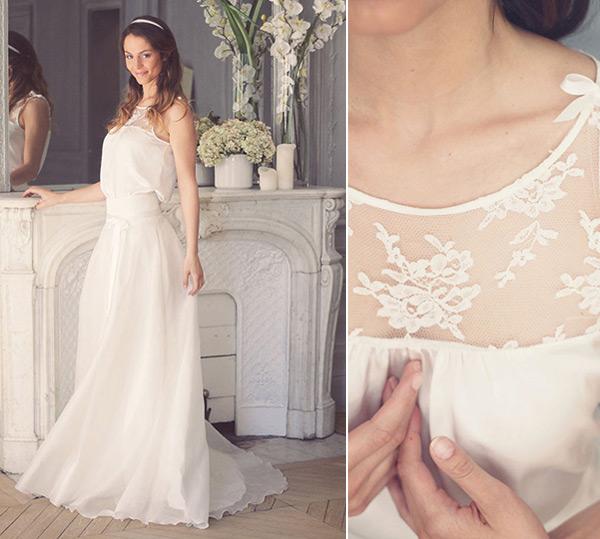 Les robes de mariée signées Marie Laporte
