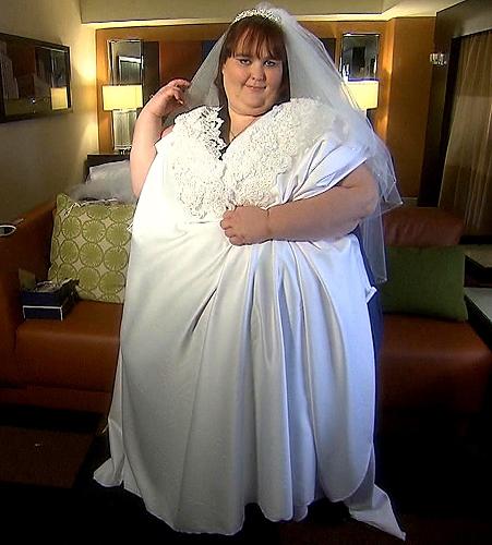 Elle veut devenir la plus grosse mariée du monde !