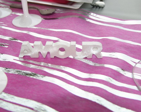 Lettres décoratives Amour