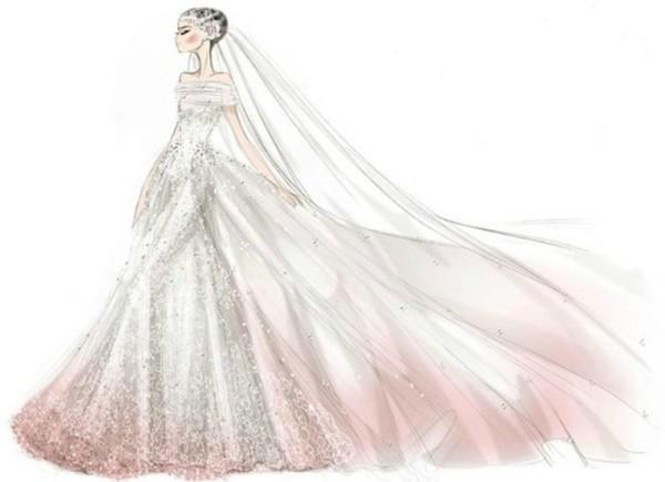 Robe de mariée Anne Hathaway, Valentino