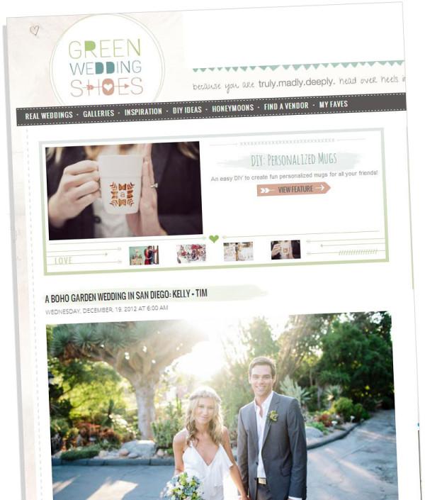 Green Wedding Shoes, blog de mariage fabuleux.