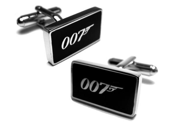 Boutons de manchettes James Bond