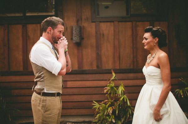 Quand le futur marié découvre sa promise...