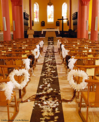 L'entrée dans l'église : tout un protocole !