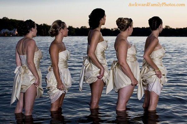 Les pires photos de demoiselles d'honneur