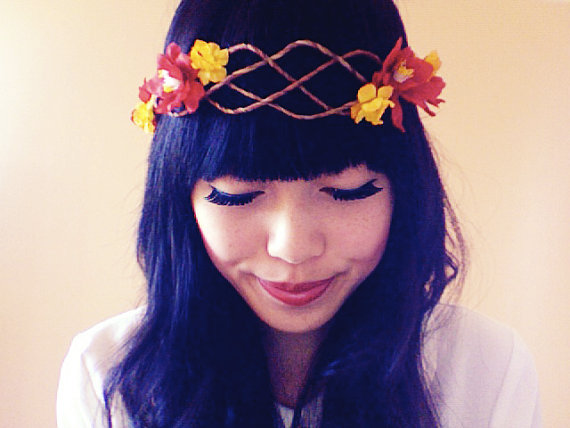 Habillez vos cheveux de jolies fleurs