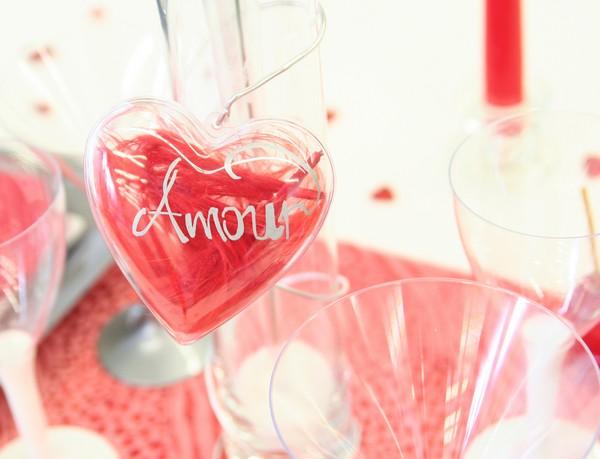 Coeur en plexiglas