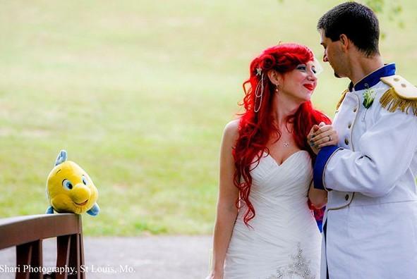 Un véritable mariage de princesse