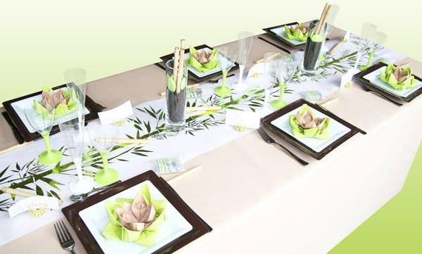 Inspiration pour décoration de table de mariage