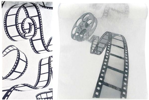 Chemins de table cinéma