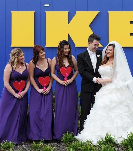 Un mariage célébré à IKEA !