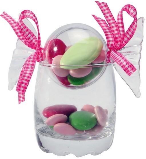Bonbons à dragées en plastique