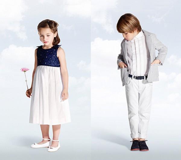 Tenues des enfants d'honneur pour un mariage