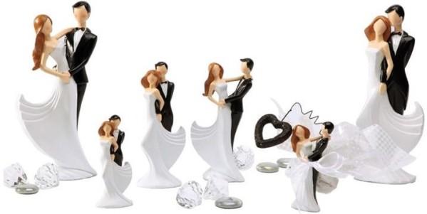 Figurine Couple mariés danse