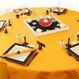 Décoration de table de mariage : tablée colorée