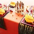 Décoration de table pour un mariage oriental