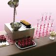 Une table spécial vin d'honneur pour votre mariage