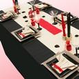 Décoration de table de mariage : thème zen