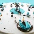 Décoration de table entre terre et mer