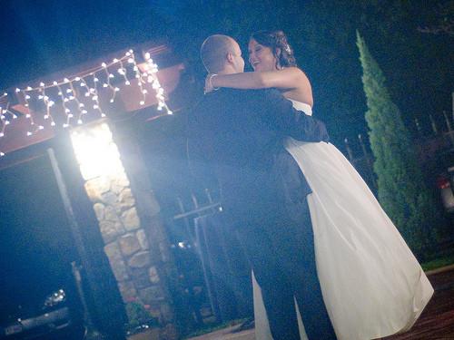 Ouverture de bal pour un mariage