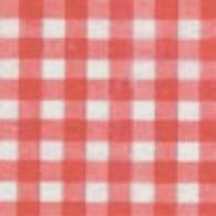 1 Chemin de table Vichy, rouge