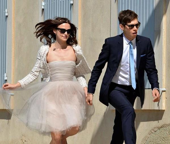 L'actrice Keira Knightley s'est mariée en France