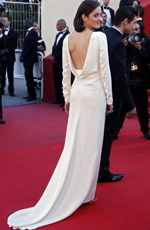 Marion Cotillard en Dior