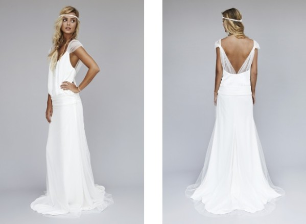 Collection de robe de mariée de Rime Arodaky, modèle ibiza