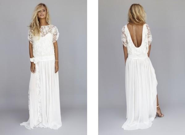 Collection de robe de mariée de Rime Arodaky, modèle lux