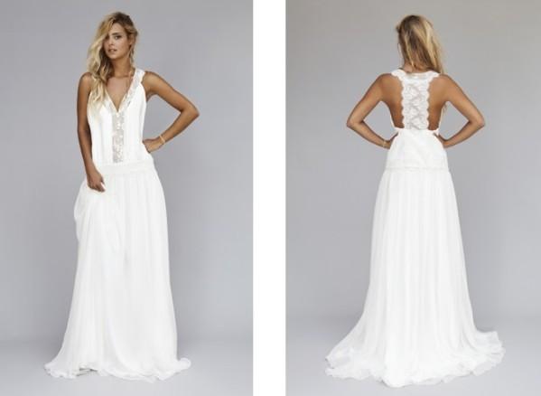 Collection de robe de mariée de Rime Arodaky, modèle milla