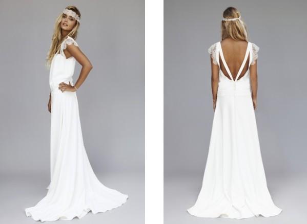Collection de robe de mariée de Rime Arodaky, modèle tess