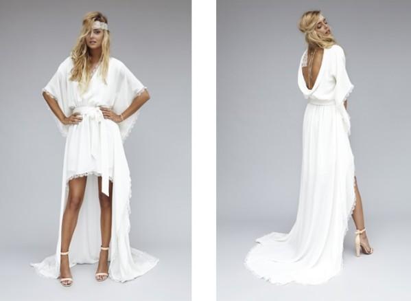 Collection de robe de mariée de Rime Arodaky, modèle zoé