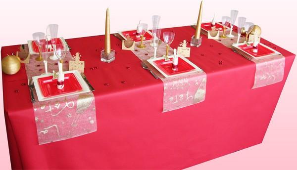 Décoration de table C'est la fête