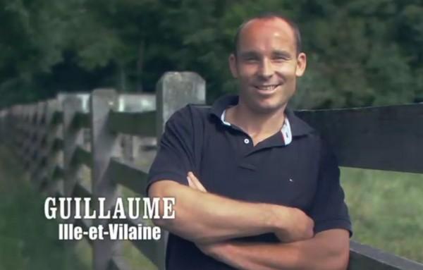 Guillaume de l'émission L'Amour est dans le Pré