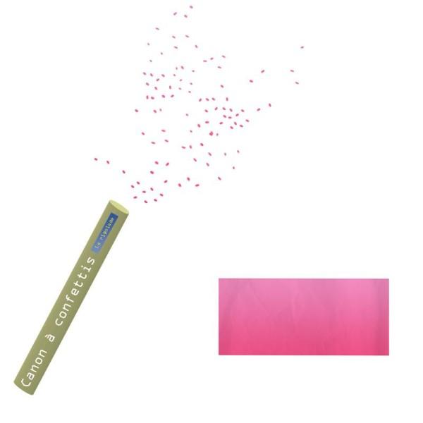 Canon à confettis, rectangle