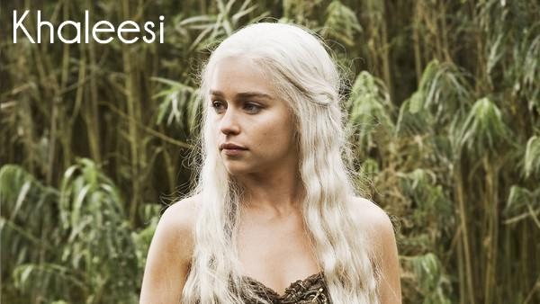Khaleesi, de la série Game of Thrones