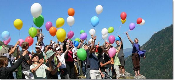 Comment organiser un lâcher de ballons