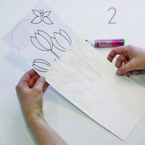 Personnalisez vos photophores en papier