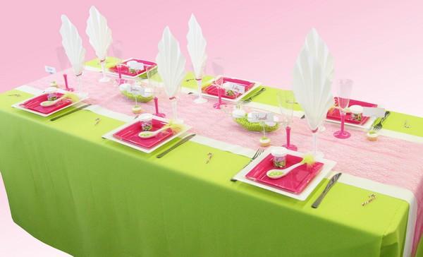 Une table colorée et acidulée pour votre mariage !