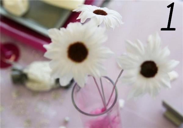 Comment utiliser nos fleurs sans tige ?