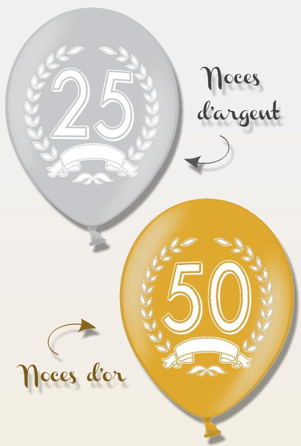 25 ou 50 ans d'amour, ça se fête !!