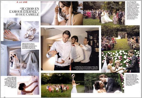 La suite des photos du mariage de Valérie et Camille Lacourt