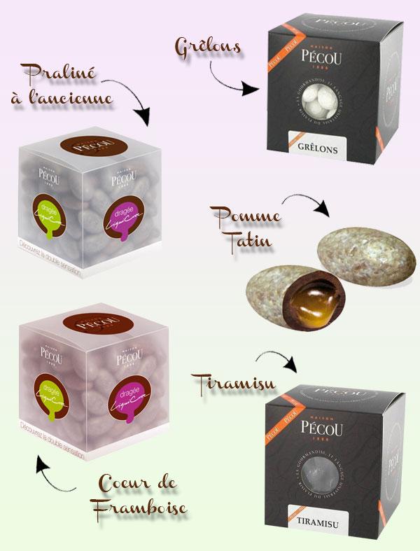 Bonbons et confiseries originales pour votre mariage