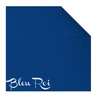 Serviettes en papier Fiesta, 40 x 40cm, bleu roi