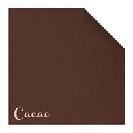 Serviettes en papier Fiesta, 40 x 40cm, cacao