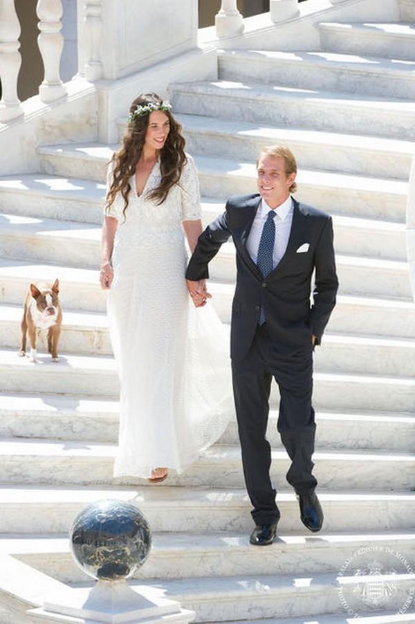 Les photos du mariage de Andrea Casiraghi et Tatiana
